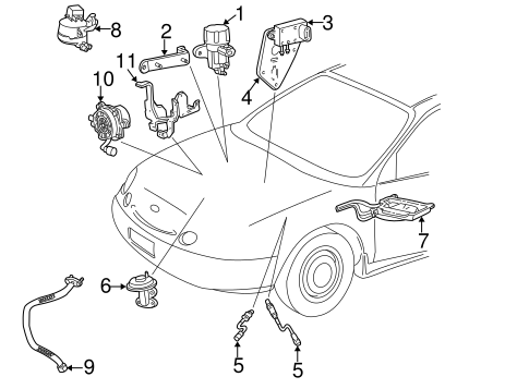 Powertrain Control For 2001 Ford Taurus