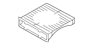Cabin Air Filter - Subaru (72880FJ000)