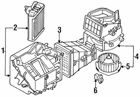 Heater Components For 1998 Chrysler Sebring