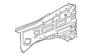 Side Rail - GM (23229849)