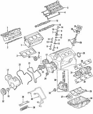 shop genuine oem gm cylinder heads gmpartsdirect 2002 Trailblazer Throttle Body Diagram cylinder head