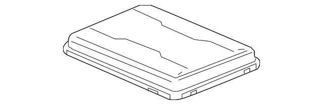 fuse box cover gm 23174030 gmpartsdirect com fuse box cover