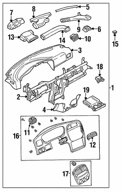 Instrument Panel For 2001 Kia Sportage
