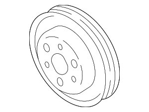 Pulley - Subaru (21151AA130)