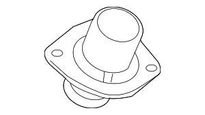 Thermostat Housing - Ford (3C3Z-8575-AA)