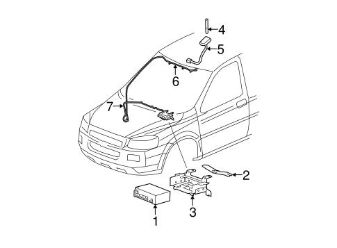 Electrical Components For 2005 Chevrolet Uplander