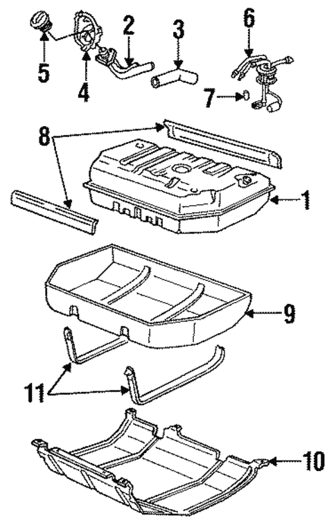 1999 Chevy Tahoe Fuel System Diagram