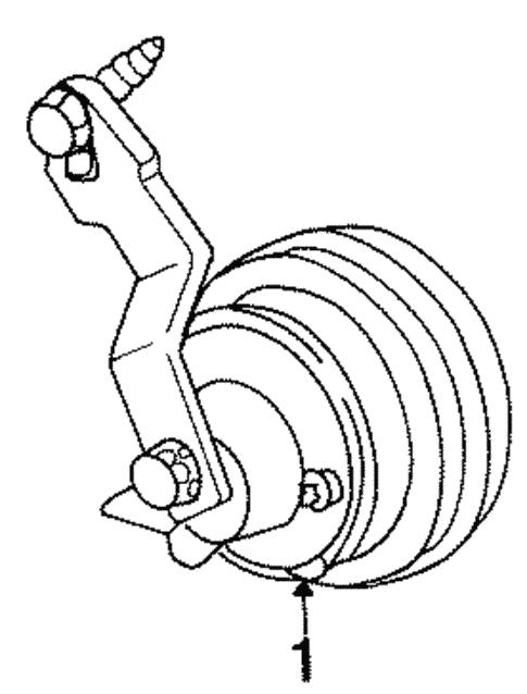 Horn For 1997 Mercury Sable