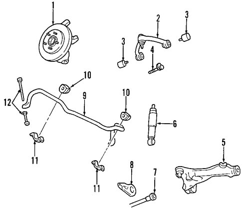 upper control arm for 1997 ford expedition