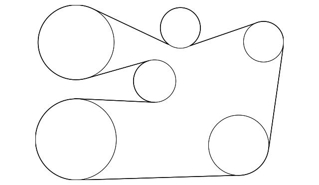 90916-A2019 - Serpentine Belt - 2010-2018 Lexus | MyLexusPartsMyLparts