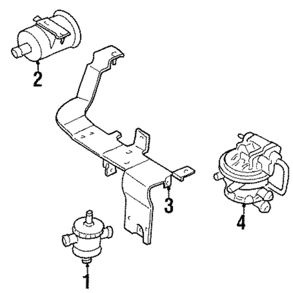 Other Car & Truck Emission Systems Jeep Dodge Chrysler Leak ...