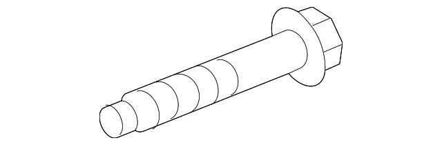 Genuine GM Stabilizer Bar Bolt 11609701