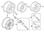 Wheel, Alloy - Ford (KL1Z-1007-A)