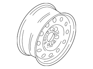 Wheel, Spare - Ford (JL1Z-1007-B)