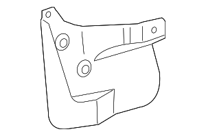 Mud Guard - Toyota (76621-60150)