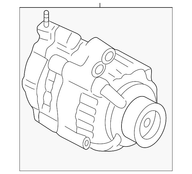 2015-2016 Acura TLX SEDAN Alternator Assembly (RMD) (Core