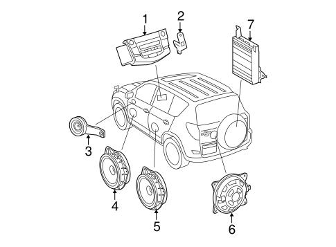 Sound System For 2007 Toyota Rav4