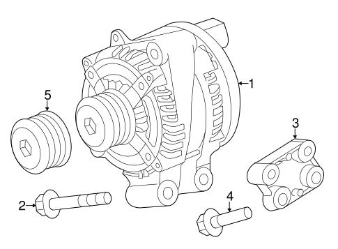 Alternator For 2018 Land Rover Range Rover Sport