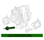 Alternator Mount Bolt - Land-Rover (FB110156)