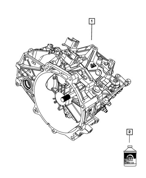 dodge parts diagram manual transaxle for 2013 jeep compass dodgeparts com  manual transaxle for 2013 jeep compass