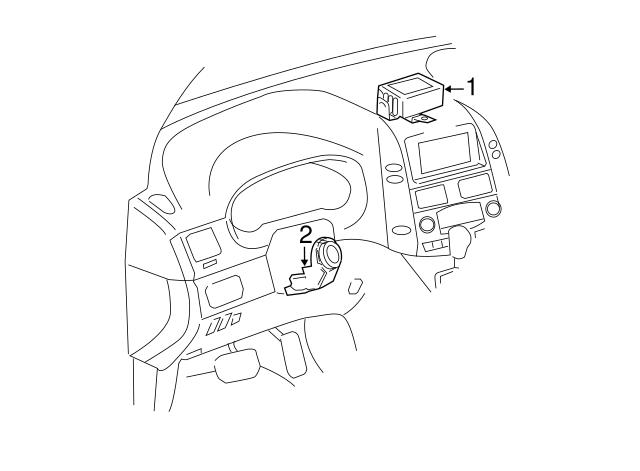 Toyota Amplifier 89783 08010