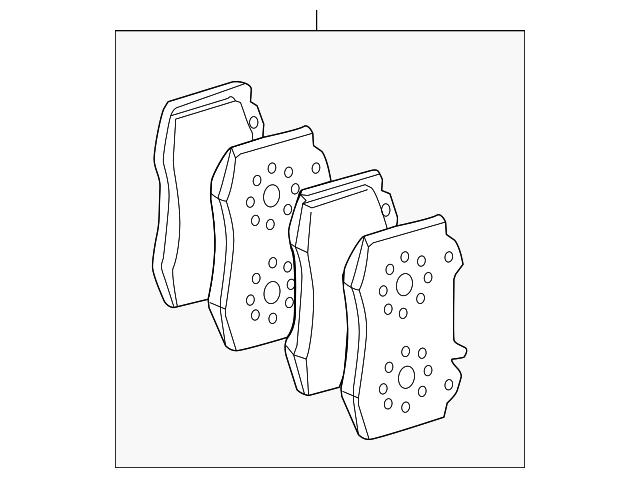 Ts Disk Brake Pad