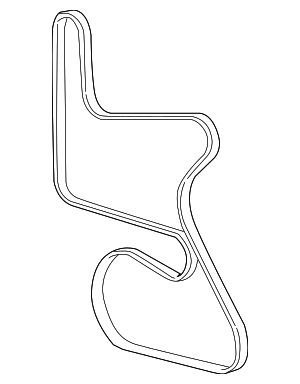 Serpentine Belt - GM (12575261)