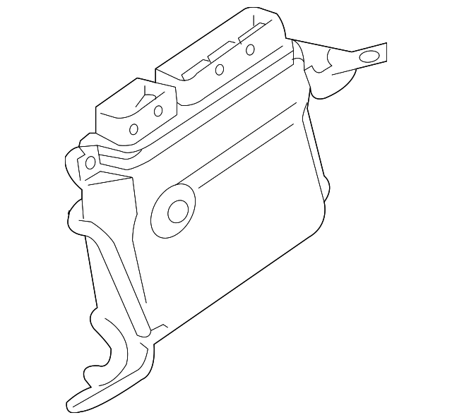 2014 Scion Iq Transmission: ECM - Toyota (89660-47682)