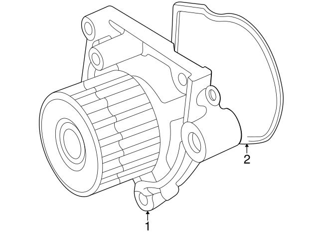 1992 2005 Honda O Ring Water Pump Yamada 19222 P08 004