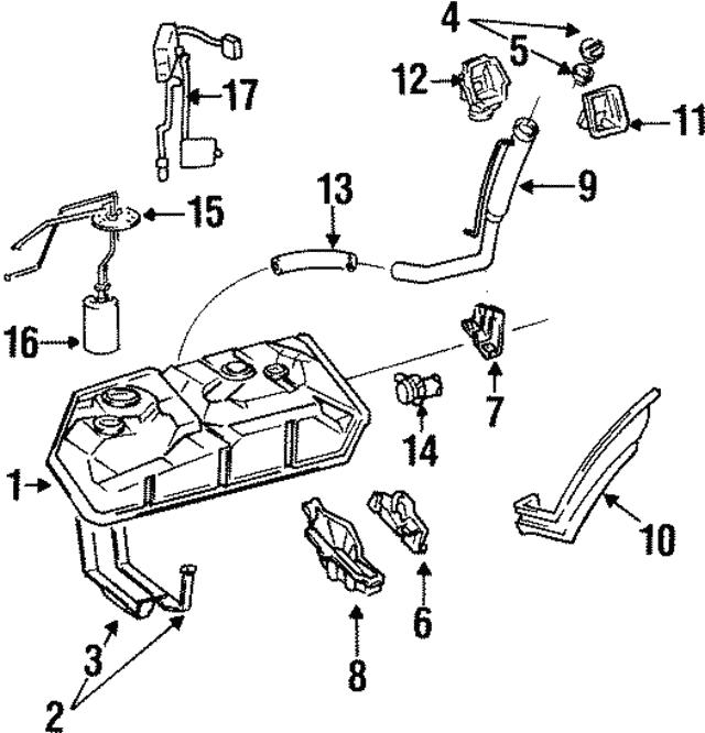 toyota previa transmission diagram 1991 1997 toyota previa fuel tank 77001 28310 camelback toyota parts  1991 1997 toyota previa fuel tank 77001