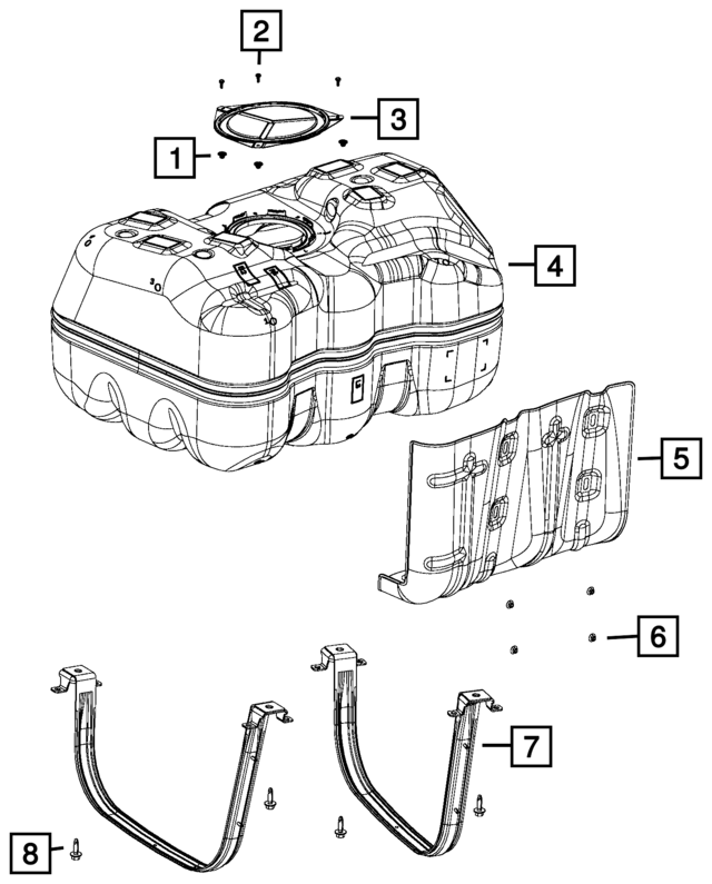 tank drawing reference gdlawct Toyota Truck Wiring Diagram tank strap mopar 52029507ab xportauto