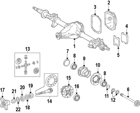 how to change front axle routan 2009
