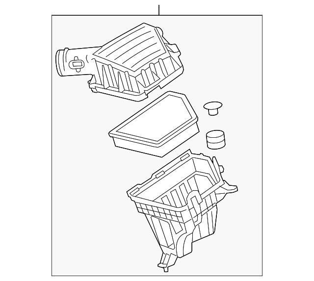 Genuine GM Air Cleaner Assembly 92230374