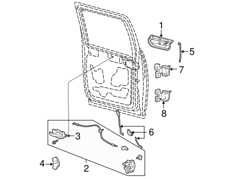 Electrical/Door for 2003 Ford F-150 #2