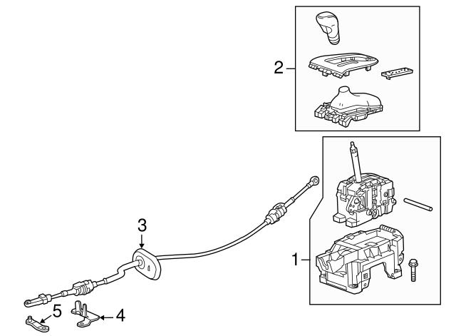 genuine buick verano shift knob 22805885 | ebay 2013 buick verano wiring diagram #7