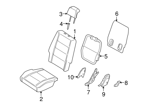 Ford Freestyle Parts Diagram