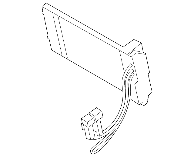 2015 2019 Ford Auxiliary Heater Bk2z 18k463 B