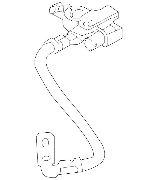 Genuine Kia Positive Cable 37180 4d010