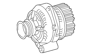 Remanufactured-Alternator - Mercedes-Benz (010-154-48-02-80)