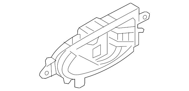 2013 2019 Nissan Leaf Handle Inside 80671 3nf1a