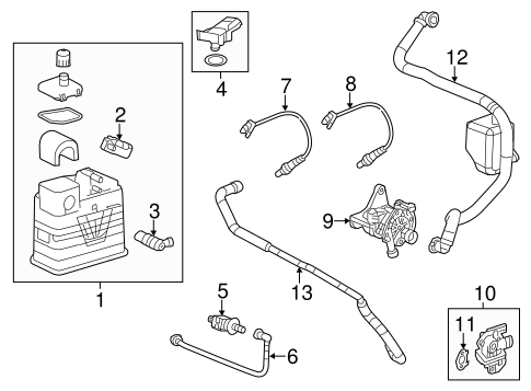 2013 chevrolet malibu engine diagram a i r system for 2013 chevrolet malibu gmpartsdirect com  a i r system for 2013 chevrolet malibu