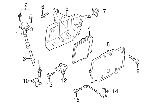 Ignition System For 2018 Ford Escape
