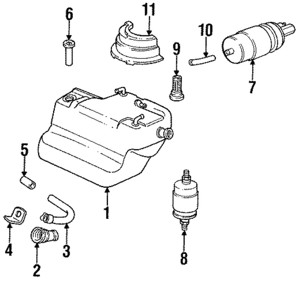 Genuine Porsche Fuel Filter 928 110 253 06 Ebay