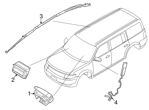 Ford Flex Airbag Wiring Diagram