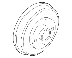 Brake Drum - Toyota (42403-WB001)