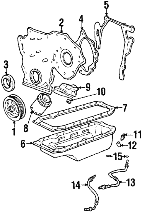 Engine Parts For 1992 Cadillac Seville