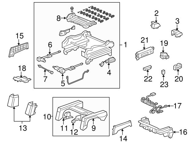 Honda Genuine 81554-SHJ-A21ZA Seat Cover