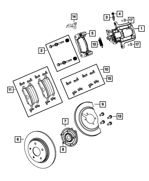 Rear Brakes for 2013 Chrysler Town & Country #0