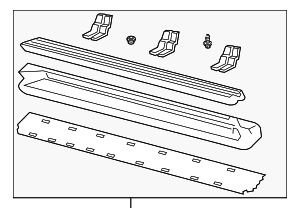 Running Board - Ford (4L2Z-16451-BAA)