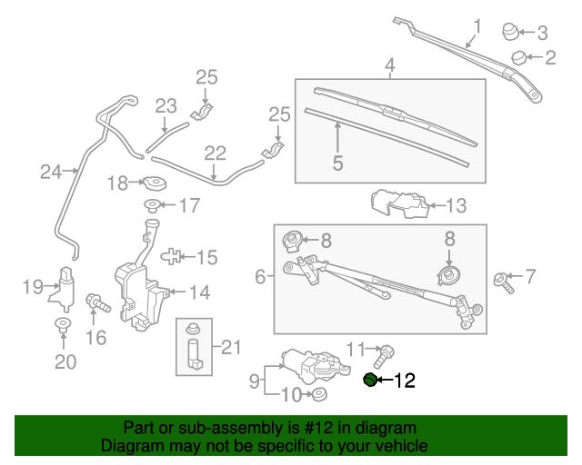 Boch Honda West >> Nut, Hex - Honda (76507-TZ5-A01)